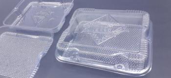 Bandeja plastica para alimentos